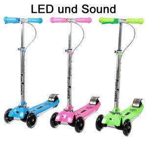 Fantomia LED Kinder Roller im Scooter Test